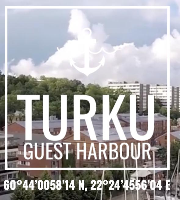 Turun vierasvenesatama, Aurajoki, Turku